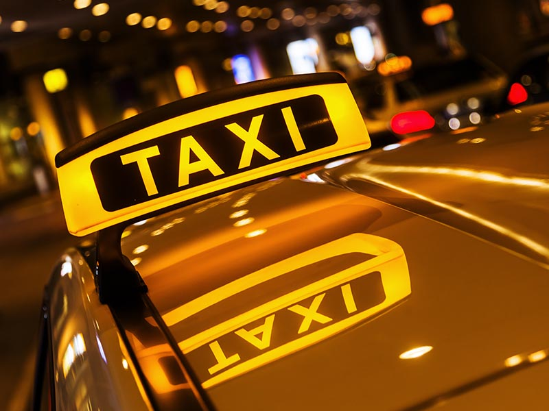Enseigne Taxi Charente-Maritime